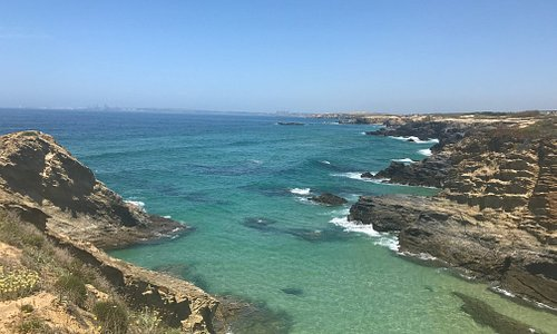 Beautiful views of Bath Beach Porto Covo, Algarve