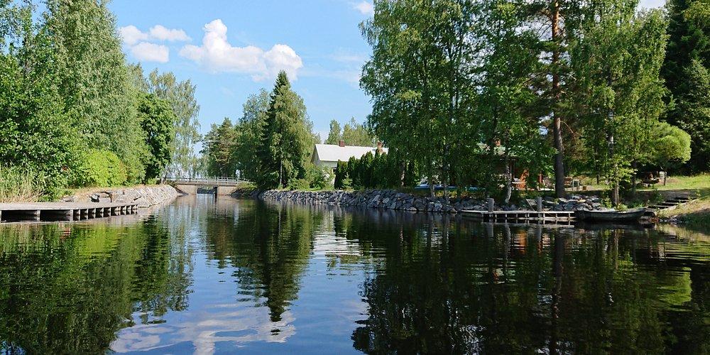 Heli Rautanen Saimaa Geopark. Geokohde Telataipaleen kanava.