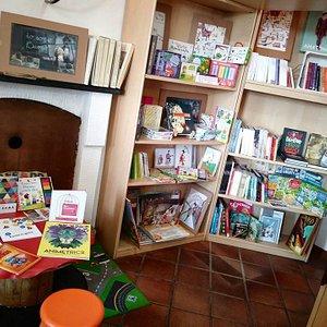 Grande spazio per i giovani lettori