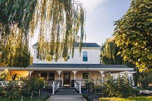 The historic Cline Family Cellars farmhouse tasting room!