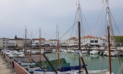 Le Port de La Flotte sur ile de Ré