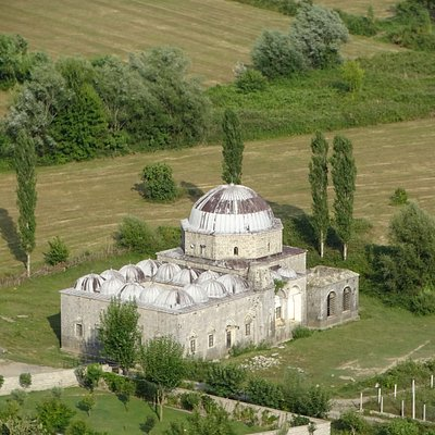 Vue depuis la forteresse Rozafa