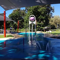 Great area for kids at the Rotary Water Park
