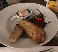 Bistro evening - smoked mackerel pate