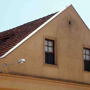 Detalhe do sótão da Casa da Cultura Polonesa na Colônia Murici