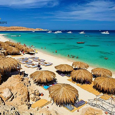 Beautiful Mahmya, Paradise in Egypt, the most beautiful beach in Giftun Island