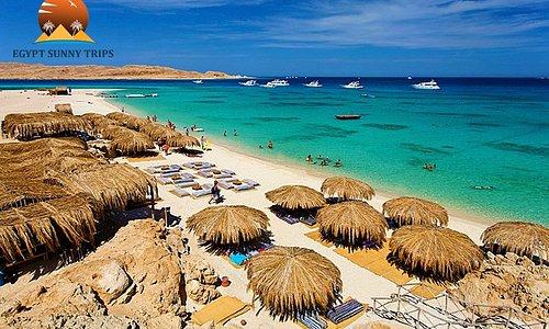 Beautiful Mahmya, Paradise in Egypt, the most beautiful beach in Giftun Island