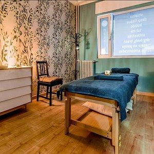Sala para tratamientos individuales.