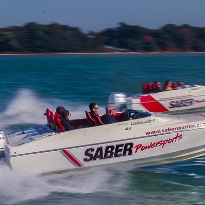 We have 3 Honda Race boats for you to come and experience. They are ideal for Team Building events too; specifically around Lap Racing Circuits