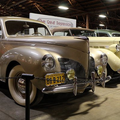 1940 Lincoln Zephyr and 1937 Packard Convertible