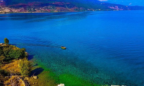 Lin is a small village of Pogradec in Albania, it is a very beautiful place and touristic too.