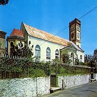 St George's Anglican church before Hurricane Ivan destroyed it.
