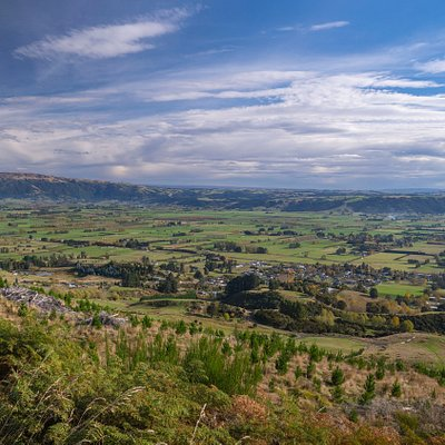 View from Saddle Hill Road Dunedin