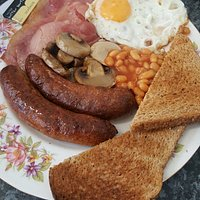 Our lovely all day breakfast!