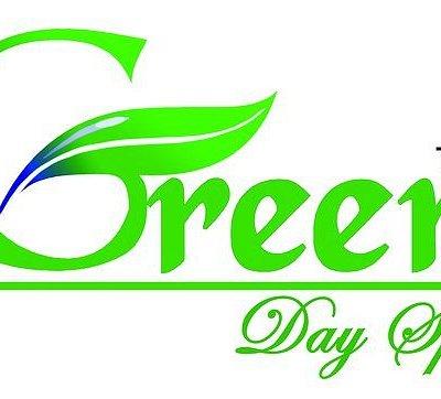 logo green day spa