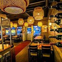 Restaurant med god atmosfære