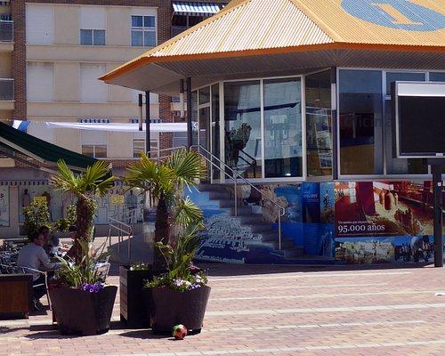 Turistinformationen i Puerto de Mazarron.