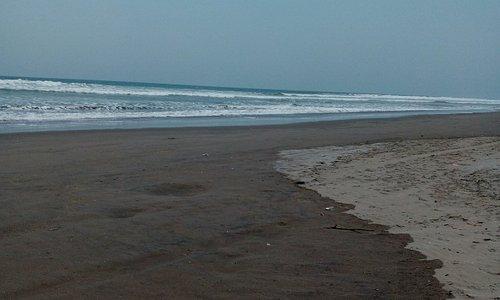 Vista de Playa de la Costa del Sol, en Zona Hotelera