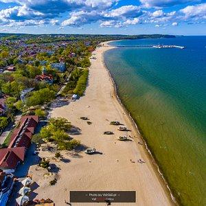 Sopot, plaża fot 2019-05-05
