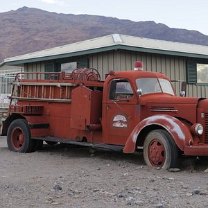 Burned Wagons Point - fire engine