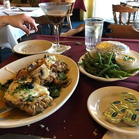 I couldn't get the pics of our meals -when I did my review - in then- so I'm posting them now  food was delish!