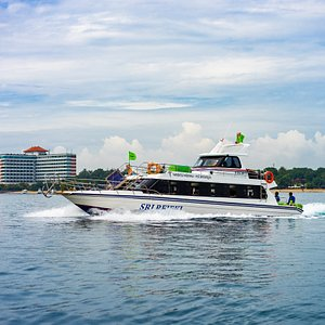 Sri Rejeki Fast Boat to go to Nusa Lembongan and Nusa Penida Island