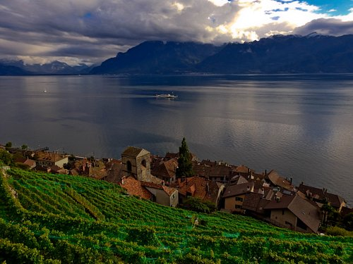 St-Saphorin, one of the most beautiful village of Switzerland. Picture Credit: Wiktor Korewa