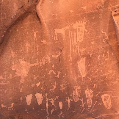 Other petroglyphs on the same rock
