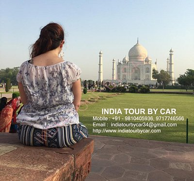Taj Mahal - Sunrise View
