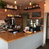 Really smart - These guys have done a super re-fit on this little GEM of a cafe ..... what great place for a quick meal or a 'grab and go'  I love the place!! and the prices are Sooooooooo....good!