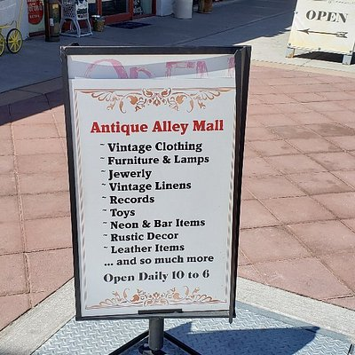 Check out antique shops in Las Vegas! We had a great time!