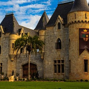 O Castelo de Itaipava,  onde fica a cervejaria artesanal.