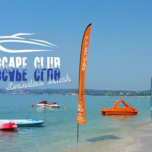 Escape Club - Rental Boats - Watersports @Lourdas Beach