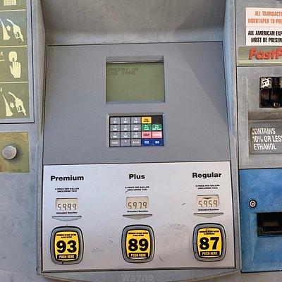 $6.00 bucks a gallon.