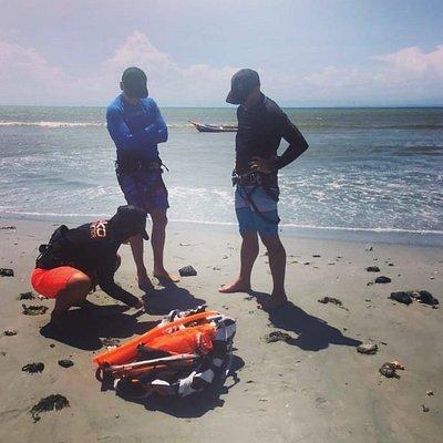 Kite beach lessons