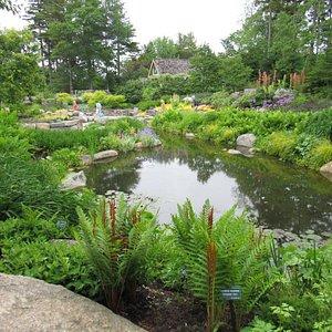Coastal Maine Botanical Gardens in Boothbay Harbor June 2018