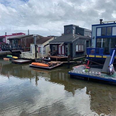 Sausalito houseboats community