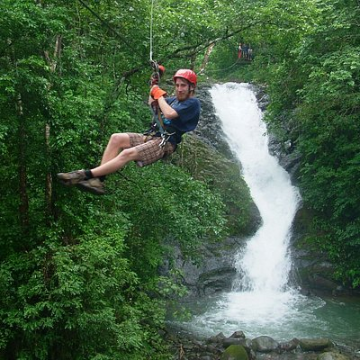 Waterfall Zip Line Tour over 11 waterfalls - the only one in Costa Rica!!