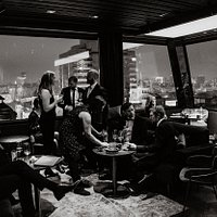 Atmosphere at 11 Mirrors Rooftop Restaurant & a World Class Bar
