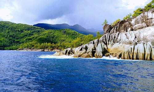 Views of the untouched parts of Mahe