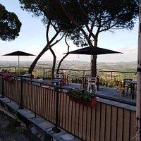 Terrace at Cubadak!