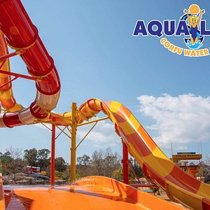 """Our new """"Catapult"""" water slide!"""