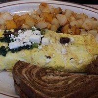 greek omelette...