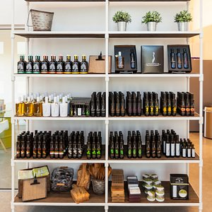 Sample and then shop your favorites in the tasting room.