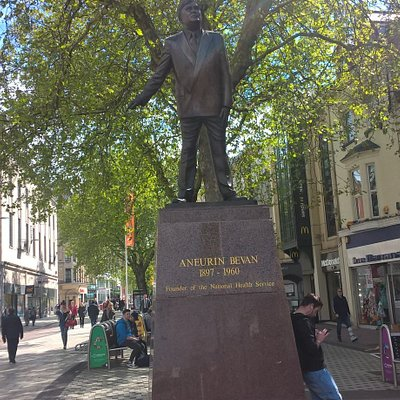 Statue of Aneurin Bevan