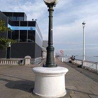 Mareómetro, en el paseo marítimo de Portugalete.