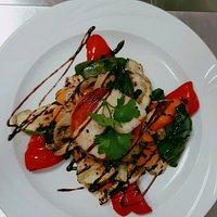 Haloumi and vegetable stack!!!