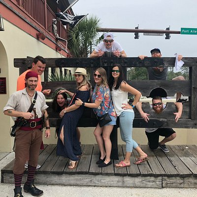 Random pirates appear in St. Augustine!