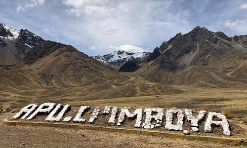 Horský průsmyk La Raya v peruánských Andách. Cordillera De Los  Andes! Nadmořská výška 4. 335 metrů nad mořem!