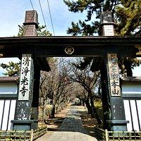 遊行寺 惣門・いろは坂~3(惣門から見るいろは坂)